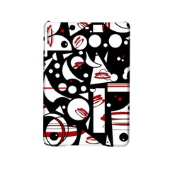 Happy Life   Red Ipad Mini 2 Hardshell Cases by Valentinaart