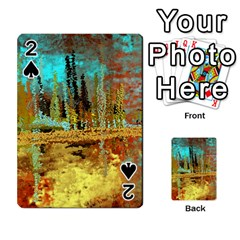 Autumn Landscape Impressionistic Design Playing Cards 54 Designs  by digitaldivadesigns
