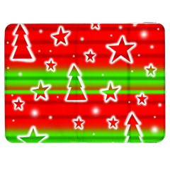 Christmas Pattern Samsung Galaxy Tab 7  P1000 Flip Case by Valentinaart