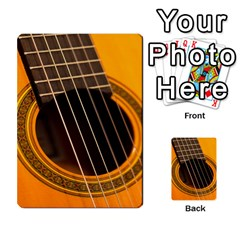 Vintage Guitar Acustic Multi Purpose Cards (rectangle)  by AnjaniArt
