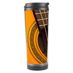 Vintage Guitar Acustic Travel Tumbler by AnjaniArt