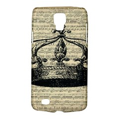 Vintage Music Sheet Crown Song Galaxy S4 Active by AnjaniArt