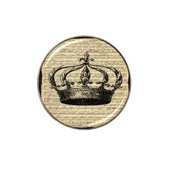 Vintage Music Sheet Crown Song Hat Clip Ball Marker by AnjaniArt