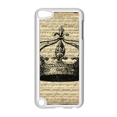 Vintage Music Sheet Crown Song Apple Ipod Touch 5 Case (white)
