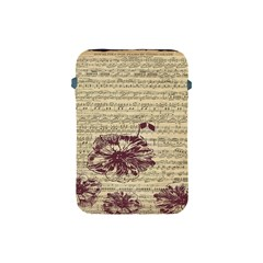 Vintage Music Sheet Song Musical Apple Ipad Mini Protective Soft Cases by AnjaniArt
