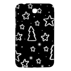 Black And White Xmas Samsung Galaxy Tab 3 (7 ) P3200 Hardshell Case  by Valentinaart