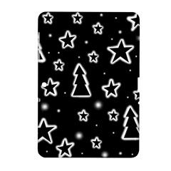 Black And White Xmas Samsung Galaxy Tab 2 (10 1 ) P5100 Hardshell Case