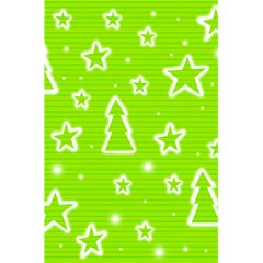 Green Christmas 5 5  X 8 5  Notebooks by Valentinaart