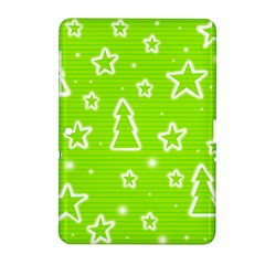 Green Christmas Samsung Galaxy Tab 2 (10 1 ) P5100 Hardshell Case  by Valentinaart