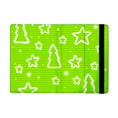 Green Christmas Ipad Mini 2 Flip Cases by Valentinaart