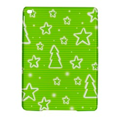 Green Christmas Ipad Air 2 Hardshell Cases by Valentinaart