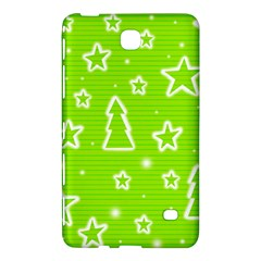Green Christmas Samsung Galaxy Tab 4 (8 ) Hardshell Case
