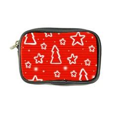 Red Xmas Coin Purse by Valentinaart