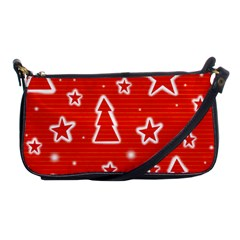 Red Xmas Shoulder Clutch Bags