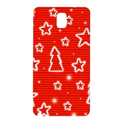 Red Xmas Samsung Galaxy Note 3 N9005 Hardshell Back Case
