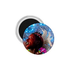 African Star Dreamer 1 75  Magnets by icarusismartdesigns