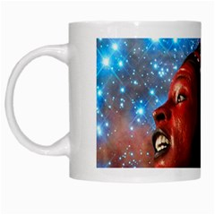 African Star Dreamer White Mugs by icarusismartdesigns