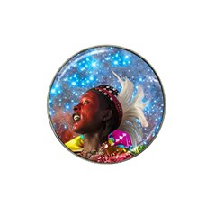 African Star Dreamer Hat Clip Ball Marker (4 Pack)