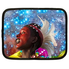 African Star Dreamer Netbook Case (large) by icarusismartdesigns
