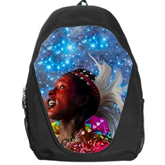 African Star Dreamer Backpack Bag by icarusismartdesigns