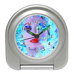 Swimming Into The Blue Travel Alarm Clocks by icarusismartdesigns