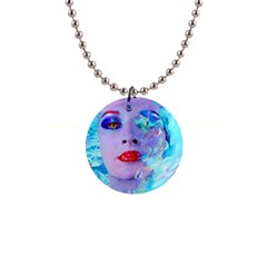 Swimming Into The Blue Button Necklaces by icarusismartdesigns