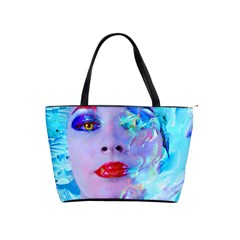 Swimming Into The Blue Shoulder Handbags by icarusismartdesigns