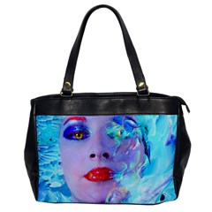 Swimming Into The Blue Office Handbags by icarusismartdesigns