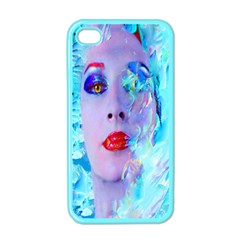 Swimming Into The Blue Apple Iphone 4 Case (color) by icarusismartdesigns