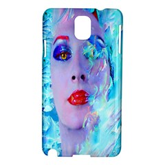 Swimming Into The Blue Samsung Galaxy Note 3 N9005 Hardshell Case by icarusismartdesigns