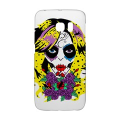 Gothic Sugar Skull Galaxy S6 Edge by burpdesignsA