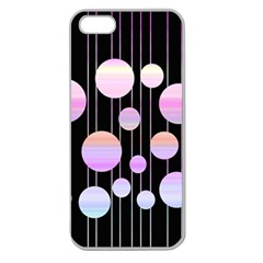 Pink Elegance  Apple Seamless Iphone 5 Case (clear) by Valentinaart