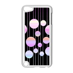Pink Elegance  Apple Ipod Touch 5 Case (white) by Valentinaart