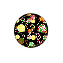 Xmas Candies  Hat Clip Ball Marker (10 Pack)