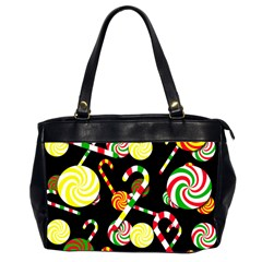 Xmas Candies  Office Handbags (2 Sides)  by Valentinaart