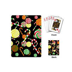Xmas Candies  Playing Cards (mini)
