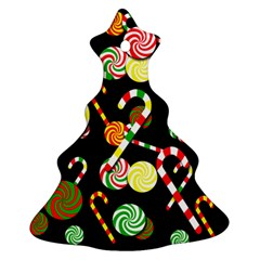 Xmas Candies  Ornament (christmas Tree) by Valentinaart