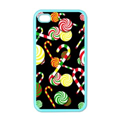 Xmas Candies  Apple Iphone 4 Case (color) by Valentinaart