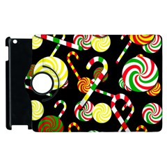 Xmas Candies  Apple Ipad 2 Flip 360 Case