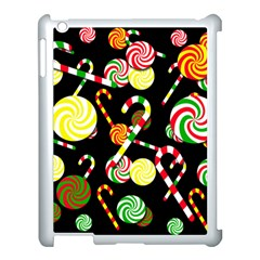 Xmas Candies  Apple Ipad 3/4 Case (white) by Valentinaart