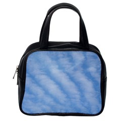 Wavy Clouds Classic Handbags (one Side) by GiftsbyNature