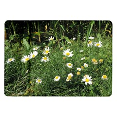 White Daisy Flowers Samsung Galaxy Tab 10 1  P7500 Flip Case by picsaspassion