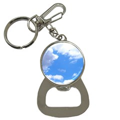 Clouds And Blue Sky Bottle Opener Key Chains by picsaspassion