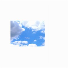 Clouds And Blue Sky Large Garden Flag (two Sides) by picsaspassion