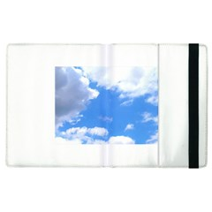 Clouds And Blue Sky Apple Ipad 2 Flip Case by picsaspassion