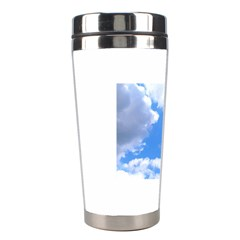 Clouds And Blue Sky Stainless Steel Travel Tumblers by picsaspassion