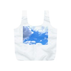 Clouds And Blue Sky Full Print Recycle Bags (s)