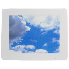 Clouds And Blue Sky Jigsaw Puzzle Photo Stand (rectangular) by picsaspassion