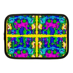 Shimmering Landscape Abstracte Netbook Case (medium)  by pepitasart