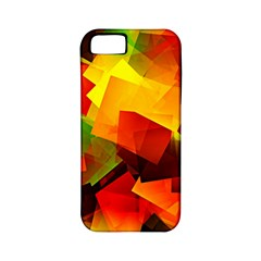 Indian Summer Cubes Apple Iphone 5 Classic Hardshell Case (pc+silicone) by designworld65